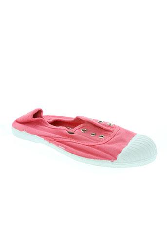 buggy chaussures fille de couleur rose