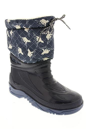 g&g chaussures garçon de couleur bleu