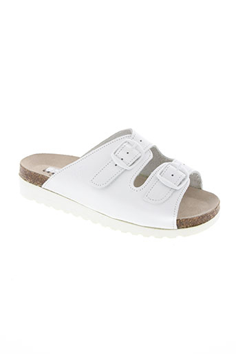 artika soft chaussures femme de couleur blanc