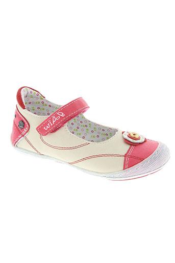 wipop chaussures fille de couleur rose