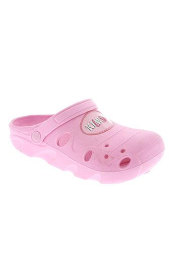kilwox chaussures fille de couleur rose
