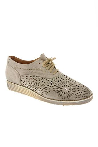 la zampa chaussures femme de couleur beige