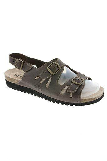 artika soft chaussures homme de couleur marron