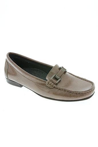 venati chaussures femme de couleur beige