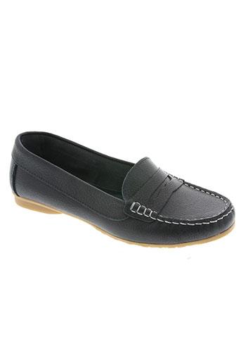 moran's chaussures femme de couleur bleu