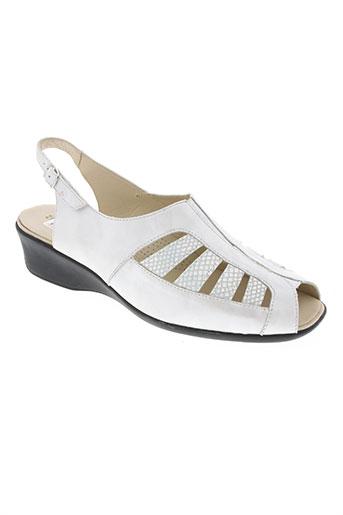 ombelle chaussures femme de couleur marron
