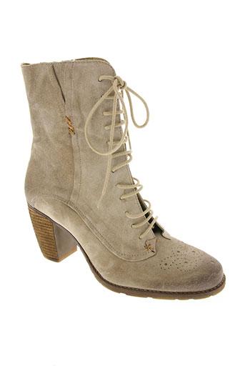 dkode chaussures femme de couleur beige