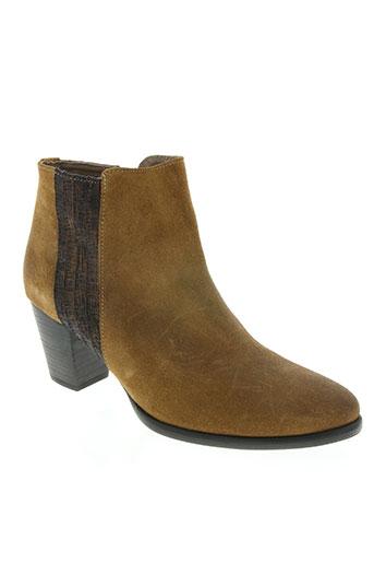 mkd chaussures femme de couleur marron