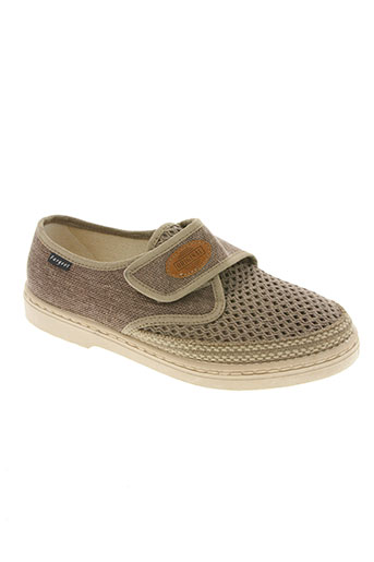fargeot chaussures homme de couleur beige
