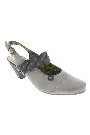 remonte chaussures femme de couleur gris
