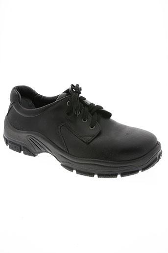 abeba chaussures homme de couleur noir
