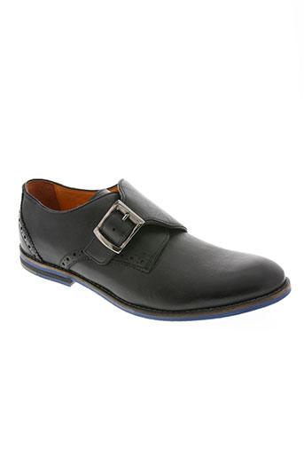 west land chaussures homme de couleur noir