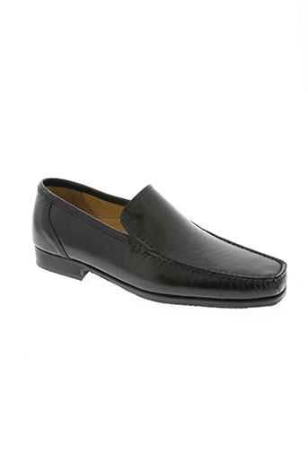 sergio moretti chaussures homme de couleur noir