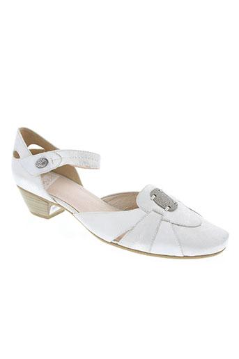 sweet chaussures femme de couleur blanc