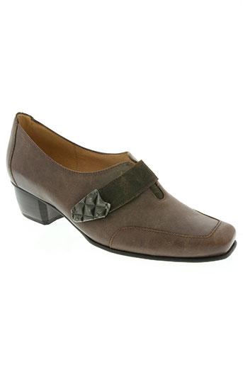 moova chaussures femme de couleur marron