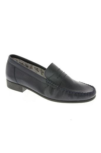 artika soft chaussures homme de couleur bleu