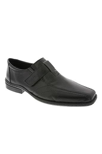 rieker chaussures homme de couleur noir