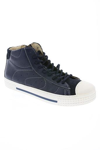 primigi chaussures homme de couleur bleu