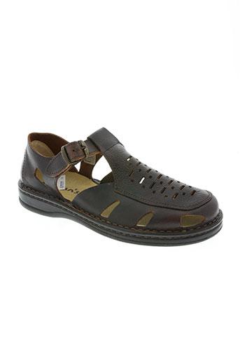 moran's chaussures homme de couleur marron
