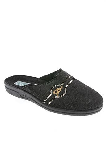 ouf! chaussures homme de couleur noir