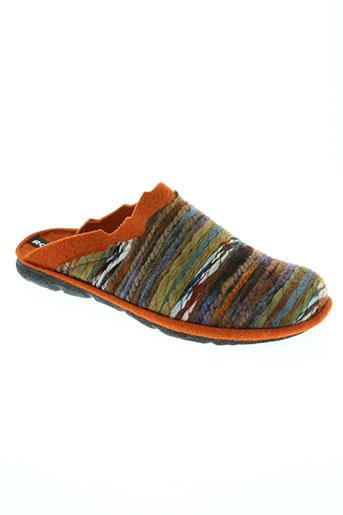 romika chaussures homme de couleur orange