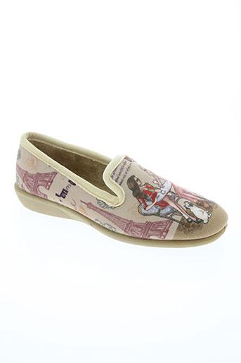 ouf! chaussures femme de couleur beige