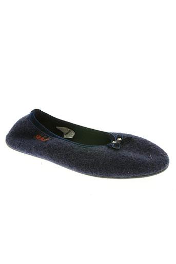 giesswein chaussures femme de couleur bleu
