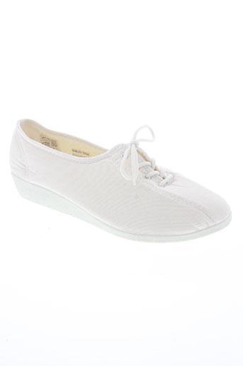 moran's chaussures femme de couleur blanc