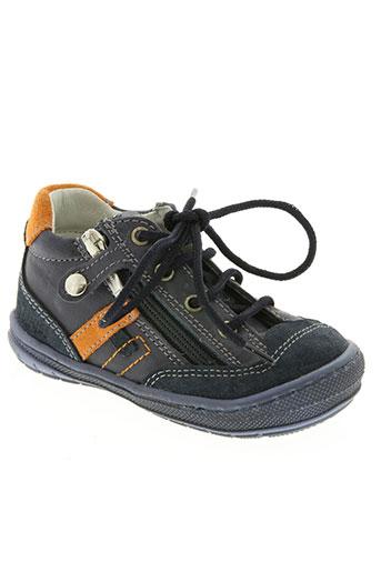 primigi chaussures garçon de couleur bleu