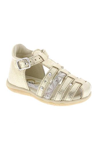 noël chaussures fille de couleur jaune