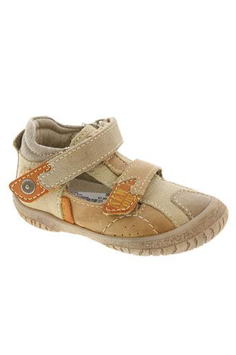 noël chaussures garçon de couleur marron