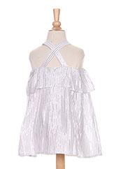 Robe mi-longue blanc CARREMENT BEAU pour fille seconde vue