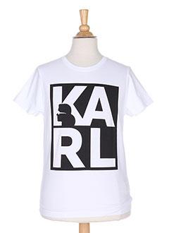 Produit-T-shirts-Garçon-KARL LAGERFELD
