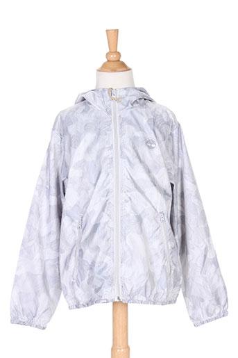 timberland manteaux garçon de couleur gris