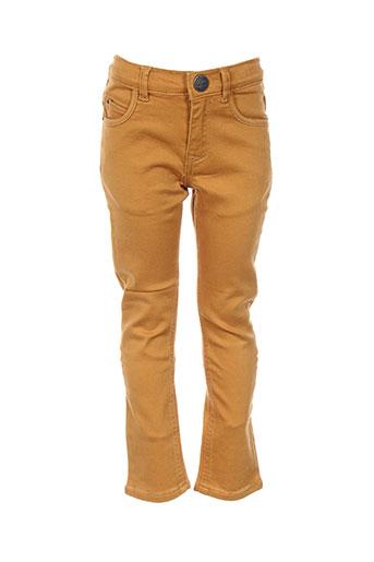 ikks jeans garçon de couleur jaune
