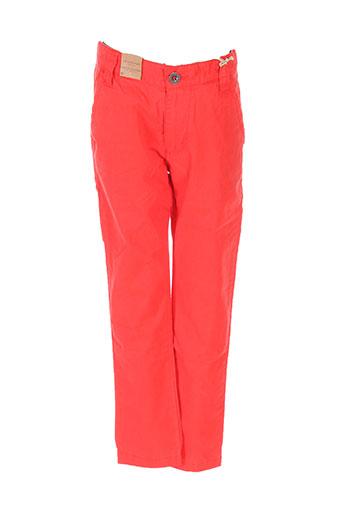 timberland pantalons garçon de couleur rouge