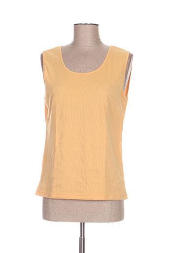 regence chemises femme de couleur orange