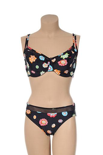 beach secret maillots de bain femme de couleur noir