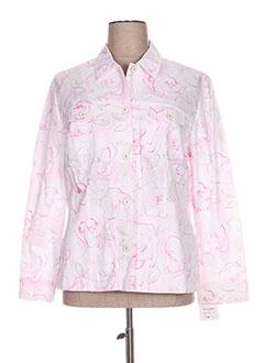 Veste casual rose FRANK EDEN pour femme
