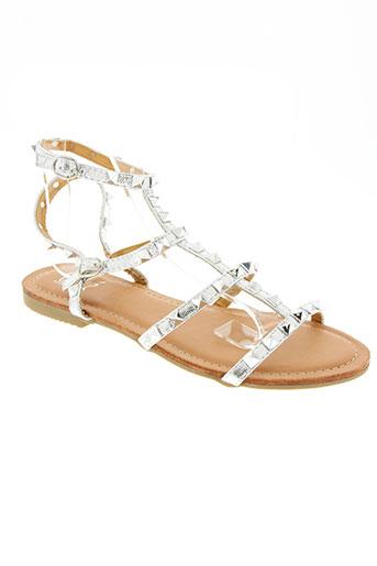 ovyé by cristina lucchi chaussures femme de couleur gris
