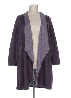 Veste casual violet OLIVER JUNG pour femme