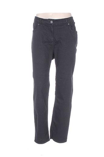 jean marc philippe jeans femme de couleur noir