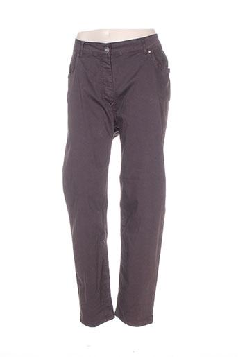 jean marc philippe jeans femme de couleur marron
