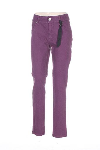veto jeans femme de couleur violet