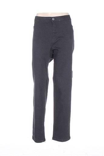 ciso jeans femme de couleur noir