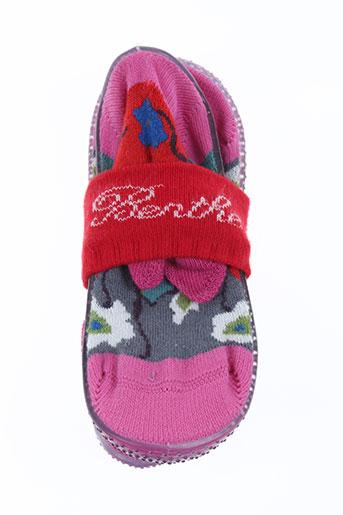 berthe aux grands pieds chaussures fille de couleur violet