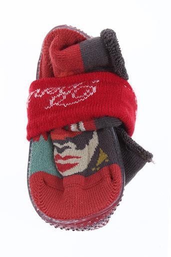 berthe aux grands pieds chaussures enfant de couleur rouge