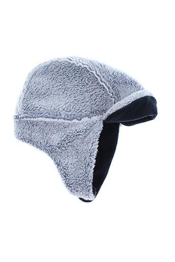 Chapeau bleu 3 POMMES pour garçon