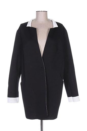 Manteau long noir MADO ET LES AUTRES pour femme