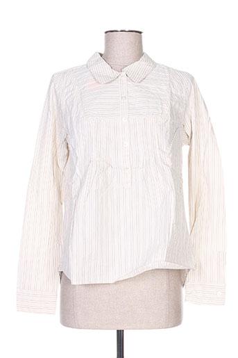 bellerose chemises femme de couleur blanc